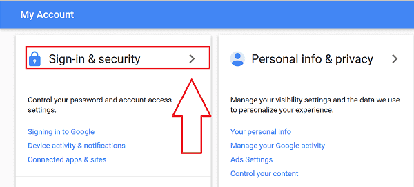 Gmail Sign in 2-step verification