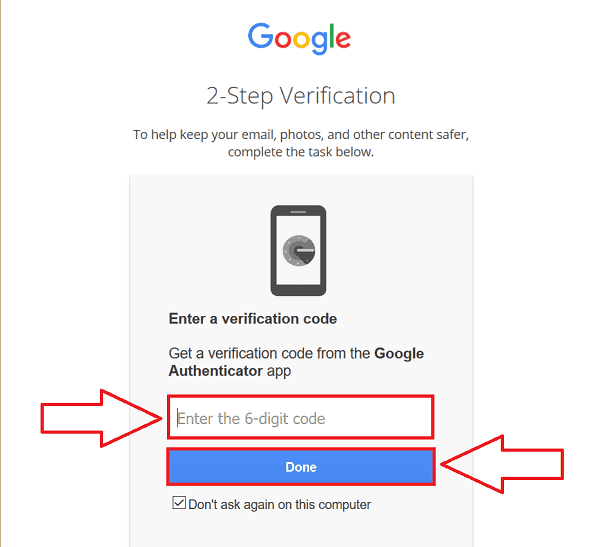 gmail.com sign in with two-step verification