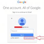 Gmail Password Recovery Steps
