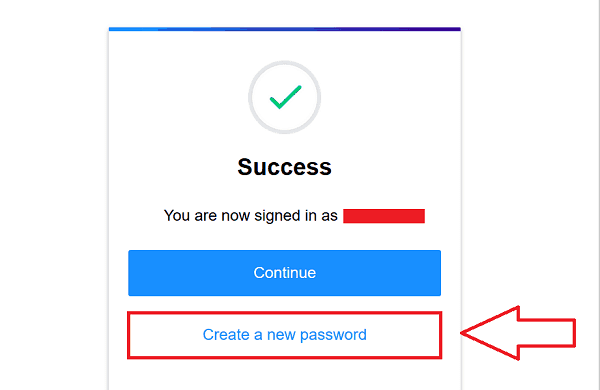 Create a new Yahoo Password