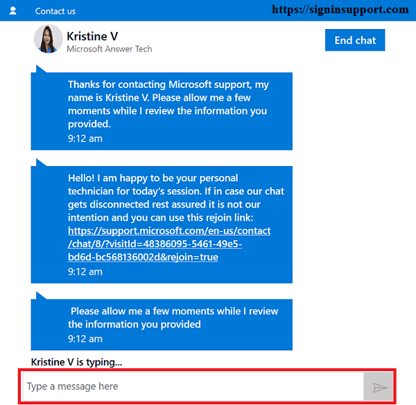 Live Chat Hotmail Support