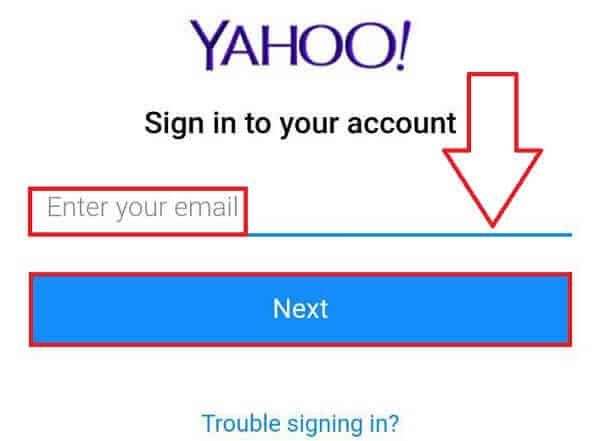 Yahoo Mobile Sign In
