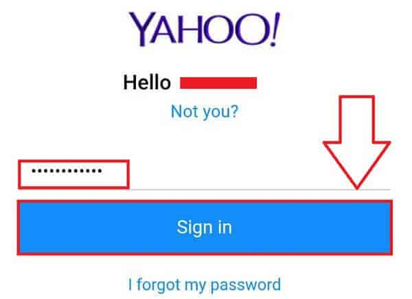 Yahoo Mobile Login