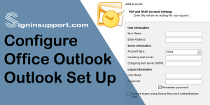 Configure Outlook