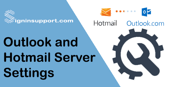 Hotmail Server Settings