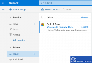 hotmail sign up inbox