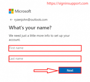 new outlook signup