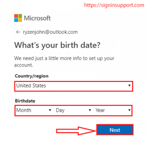 outlook mail sign up